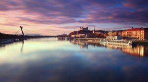 Bratislava, on the River Danube